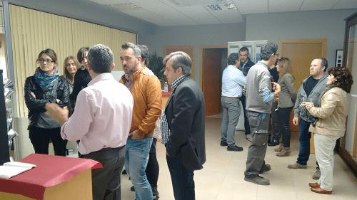 presentación de productos a decoradores, arquitectos y constructores en oficinas sicalum